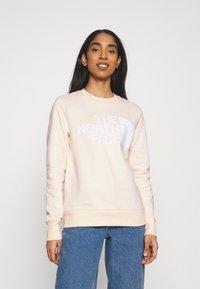 The North Face - STANDARD CREW - Sweatshirt - pink tint - 0