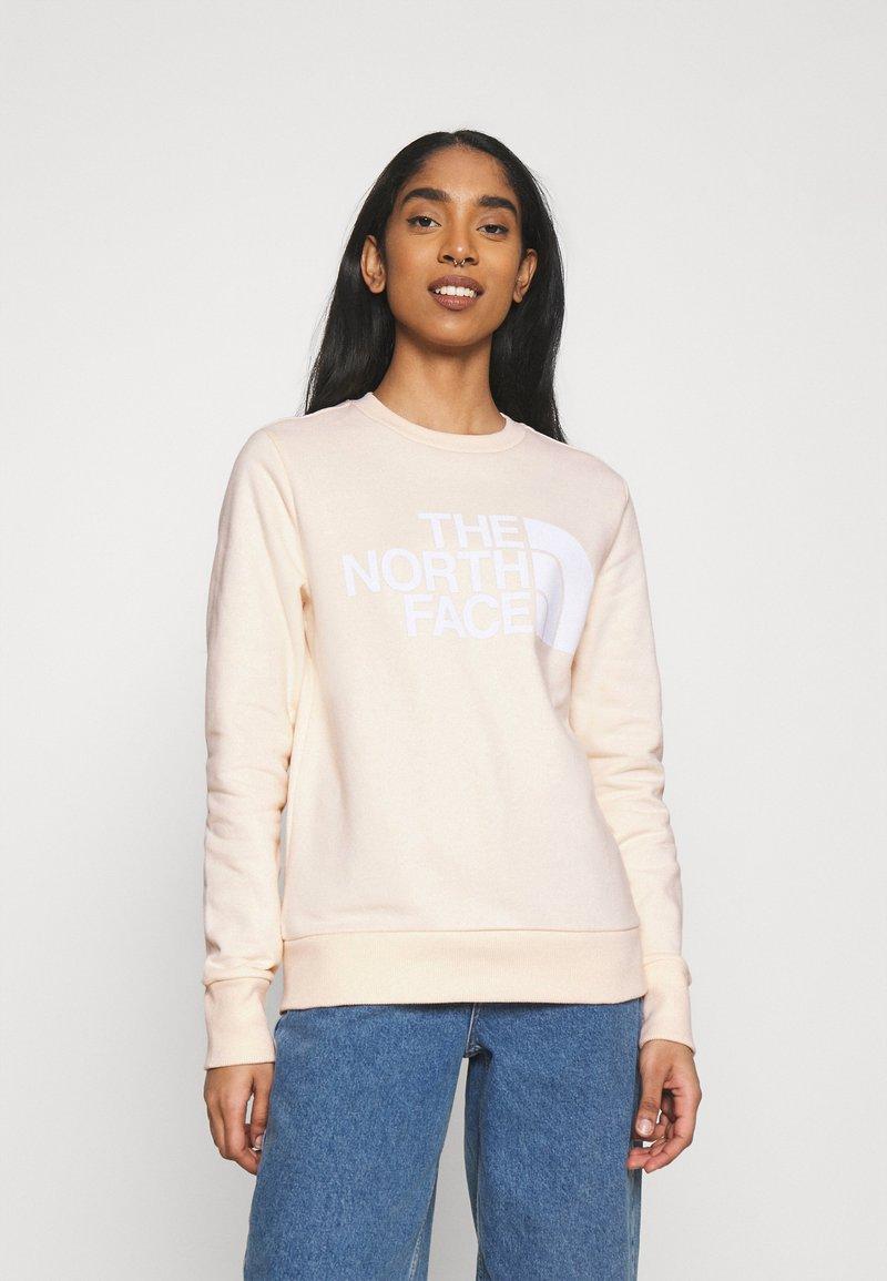 The North Face - STANDARD CREW - Sweatshirt - pink tint
