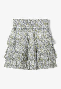 Name it - A-line skirt - bright white - 1