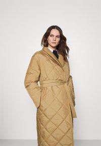 ARKET - Classic coat - beige - 4