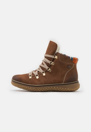 Winter boots - reh/brown/orange/multicolor