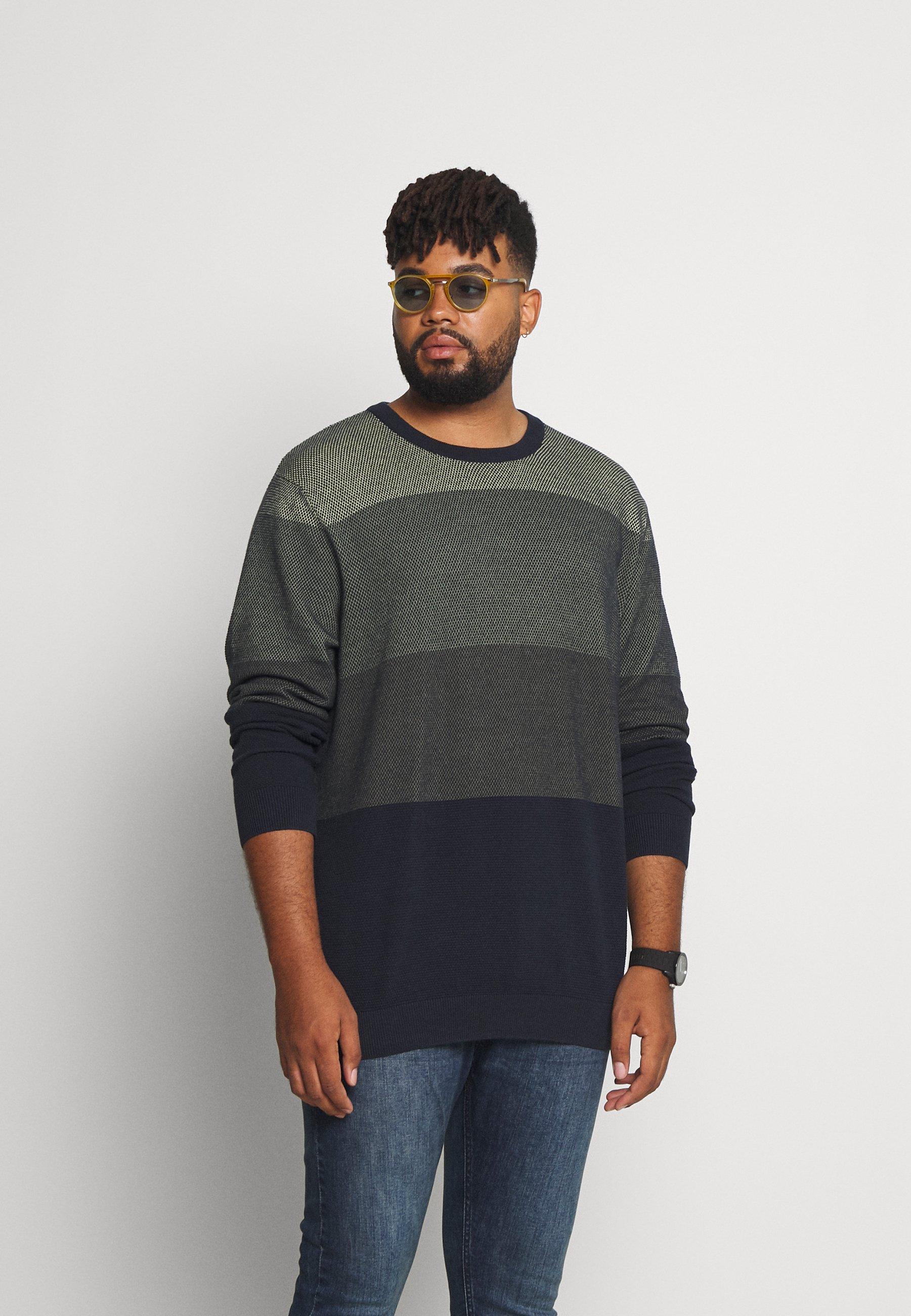 Homme JORFINN KNIT CREW NECK - Pullover