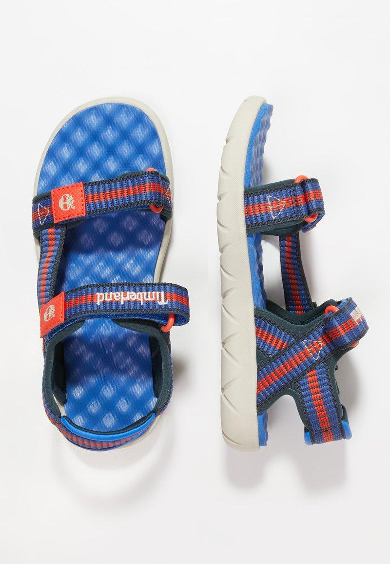 Timberland - PERKINS ROW WEBBING - Sandals - bright blue