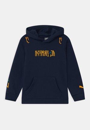 NEYMAR HERO HOODY UNISEX - Hoodie - peacoat/dandelion