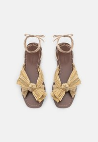 Loeffler Randall - PEONY - Sandály - gold lame - 4