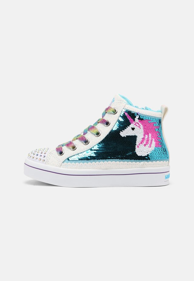 TWI LITES 2.0 - High-top trainers - white/multi/turquoise