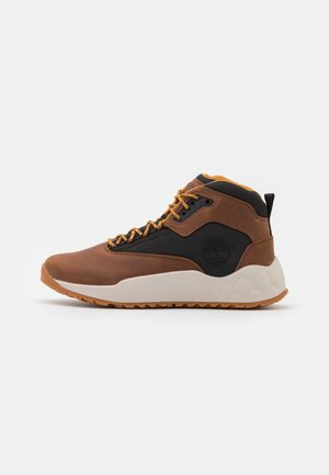 SOLAR WAVE MID EK+ - High-top trainers - mid brown