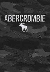 Abercrombie & Fitch - TECH LOGO - Triko spotiskem - black - 2