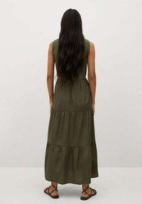 Mango - ABRIL - Maxi šaty - khaki - 1