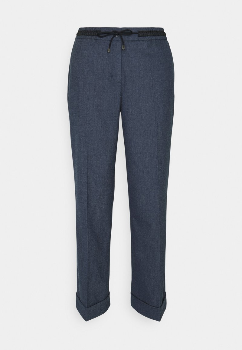 Opus - MANINA FRESH - Trousers - forever blue