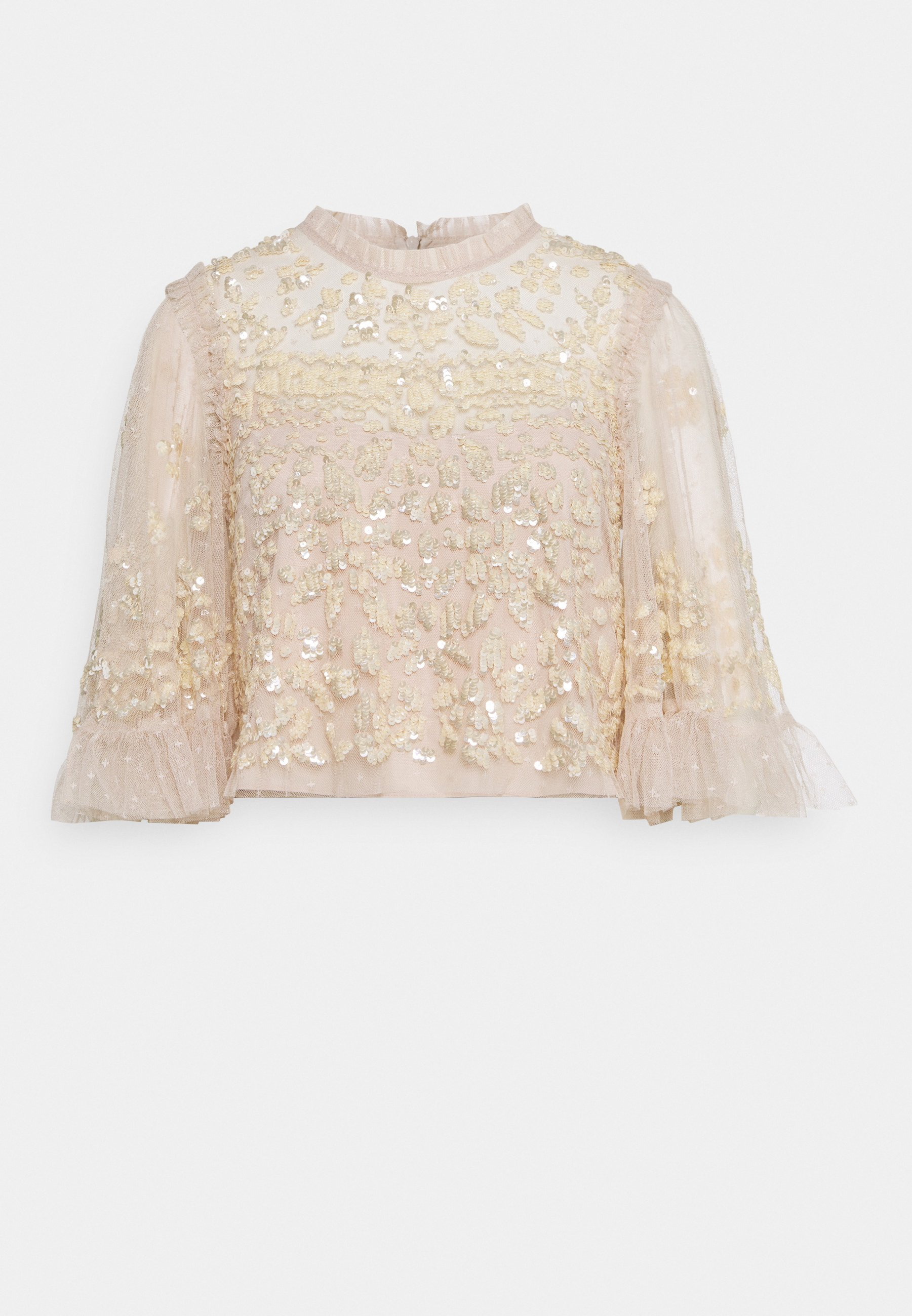 ANAÏS SEQUIN TOP   Bluse   pearl rose/champage