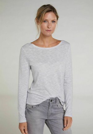 Sweatshirt - light grey white