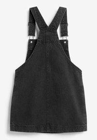 Next - Denim dress - black denim - 1