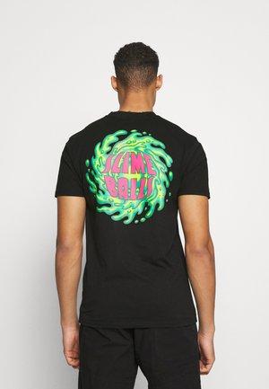 SLIMEBALLS UNISEX - Print T-shirt - black