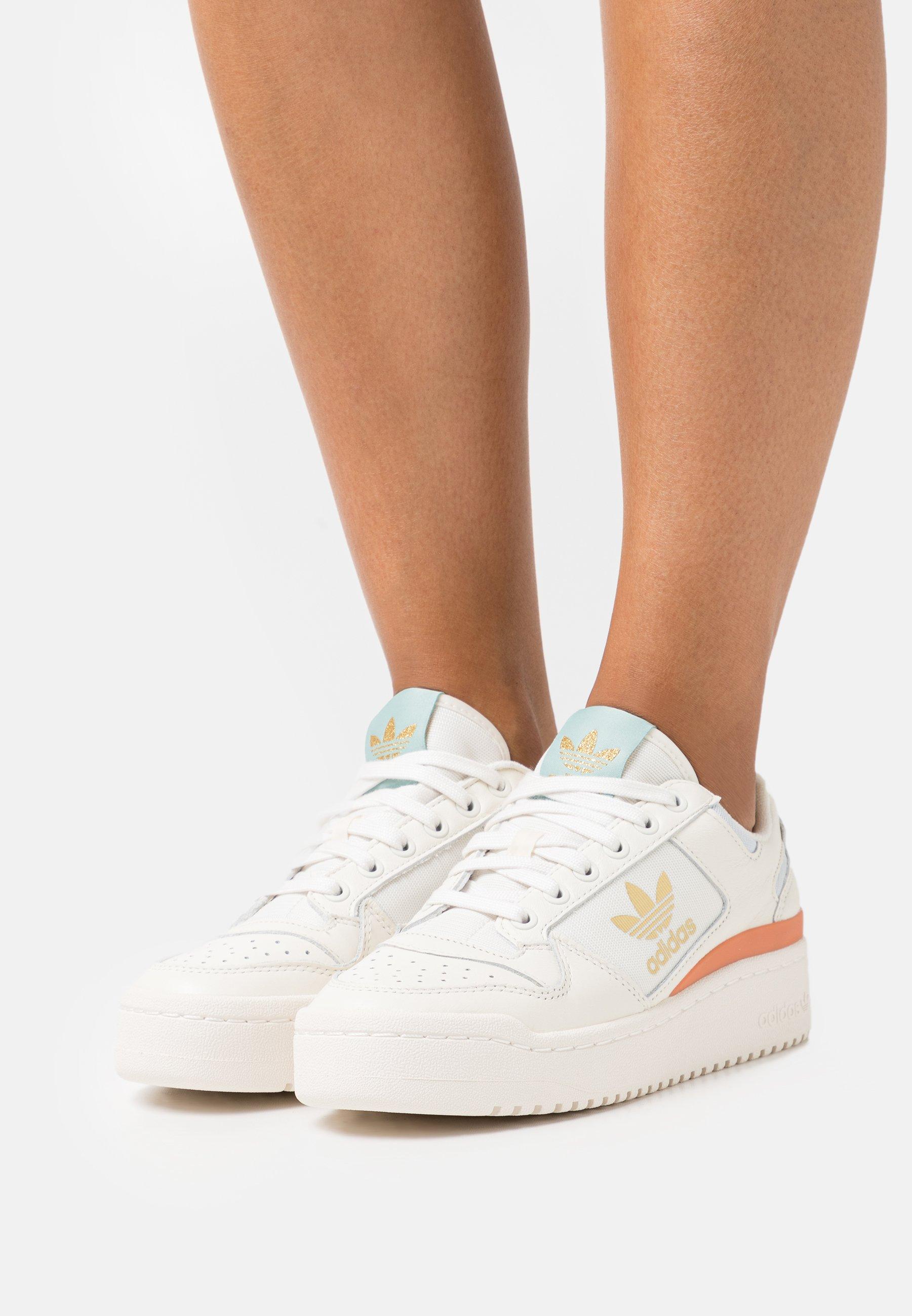adidas Originals FORUM BOLD   Sneaker low   cloud white/offwhite ...