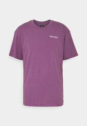 MOURI UNISEX - Print T-shirt - violet