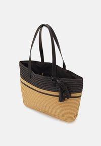 Anna Field - Tote bag - black/beige - 2