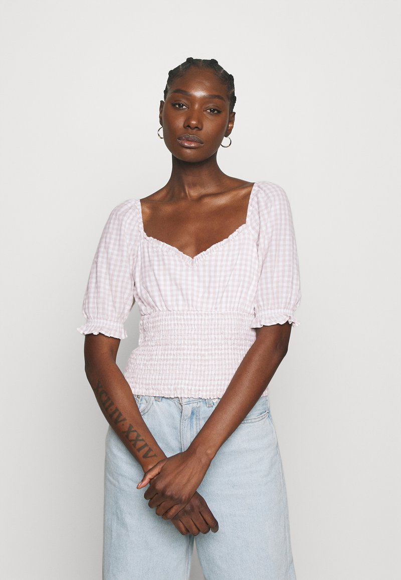 Abercrombie & Fitch - MIMOSA BLOUSE - Blouse - white