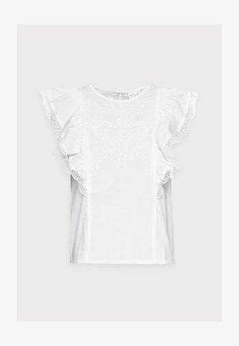 VICASANDRA - Camiseta estampada - snow white