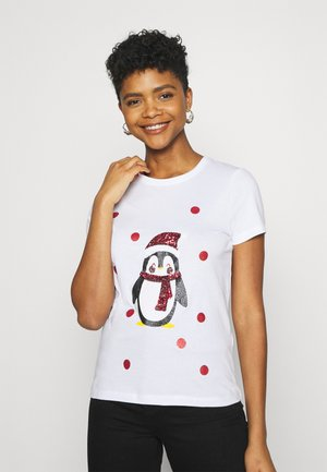 CHRISTMAS - T-shirts print - bright white