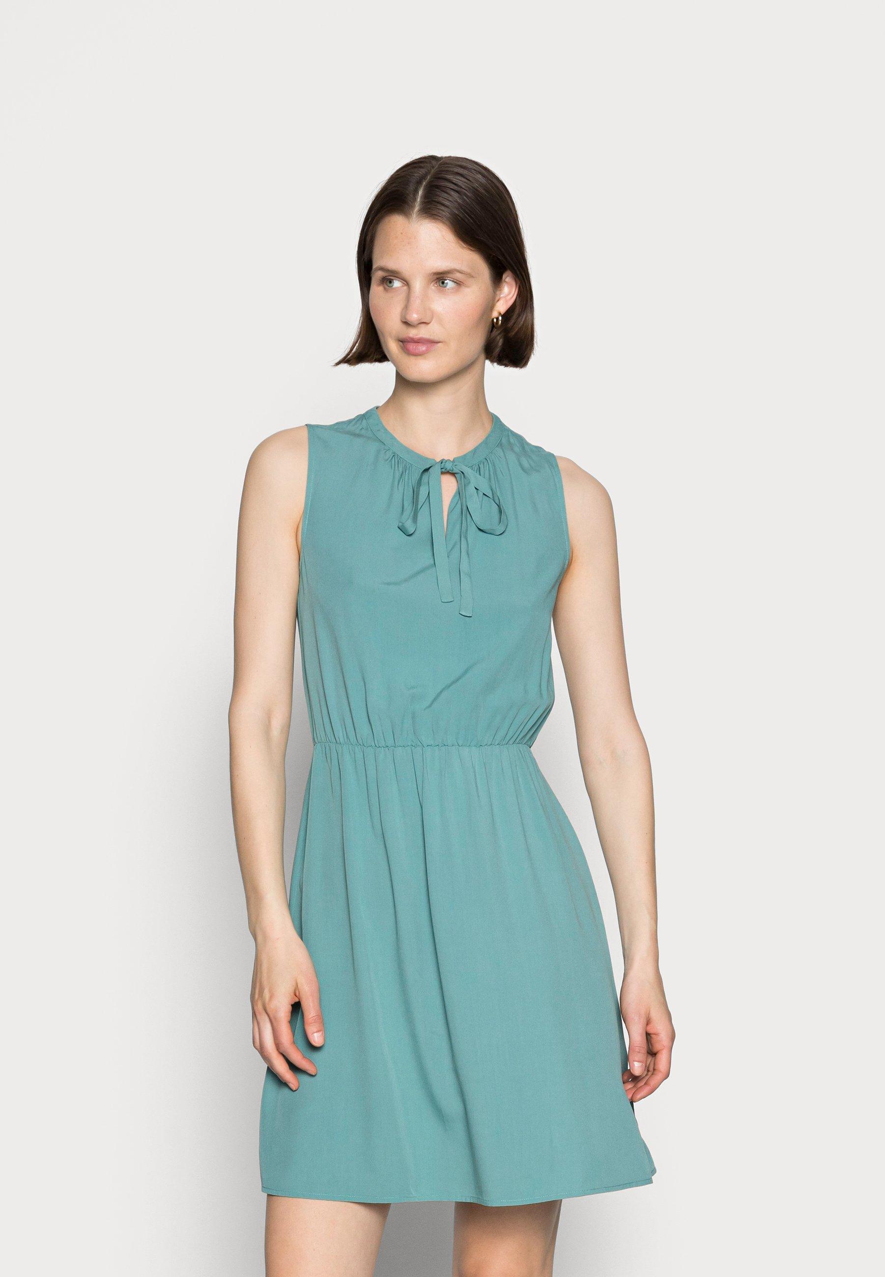 Women SLEEVELES TIE DETAIL DRESS - Day dress