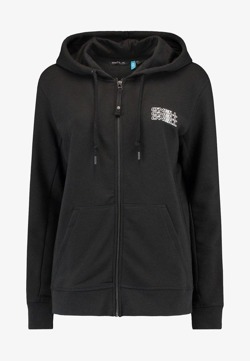 O'Neill - Zip-up sweatshirt - black out