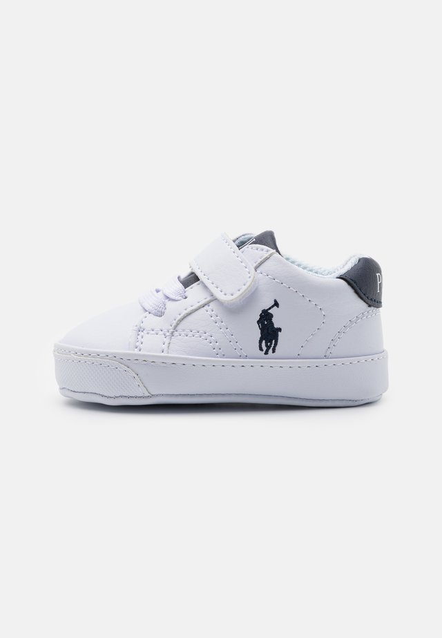THERON LAYETTE UNISEX - Babyschoenen - white tumbled/navy