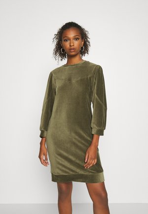 NMALBA SIMONE  3/4 SLEEVE  - Day dress - kalamata