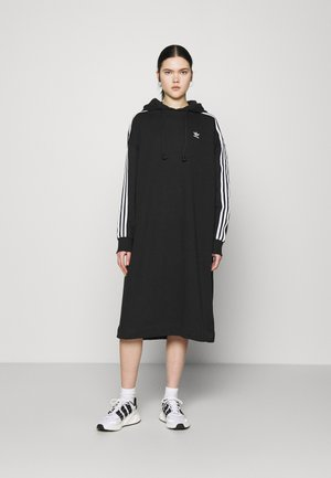 HOODIE DRESS - Robe d'été - black