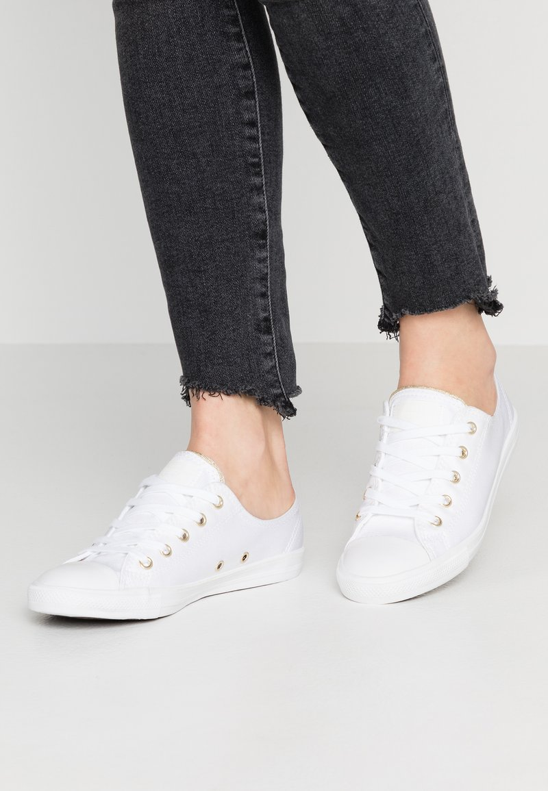 Converse - DAINTY - Trainers - white/egret/light gold