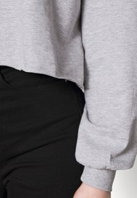 Even&Odd - Hoodie - mottled light grey - 4