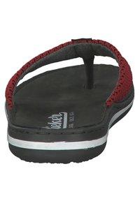 Rieker - T-bar sandals - black - 2