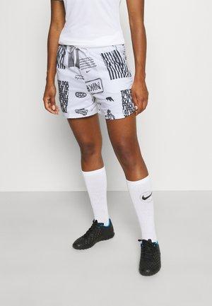 FC SHORT - Sports shorts - white/black