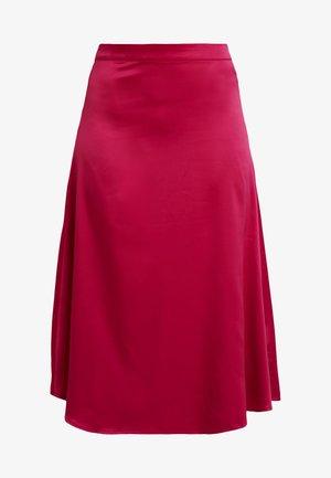 SKIRT - A-line skirt - dark fucksia