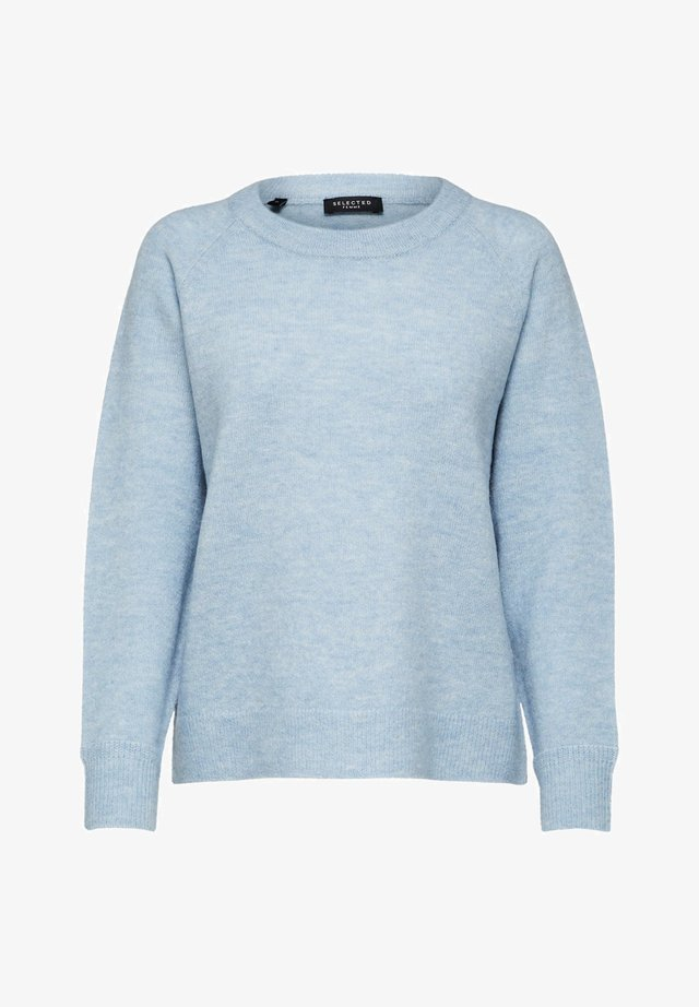 Sweter - cashmere blue