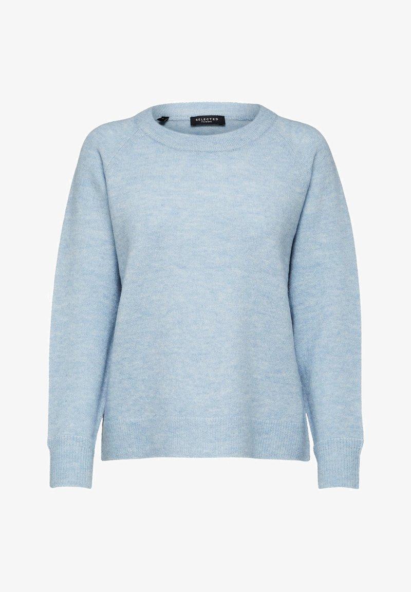 Selected Femme - Jumper - cashmere blue