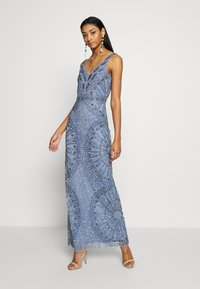 Lace & Beads - NAFISA - Occasion wear - dusty blue - 1