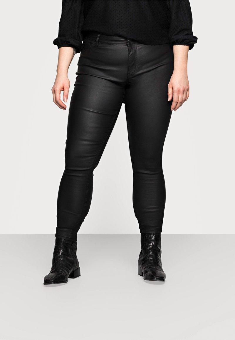 Pieces Curve - PCSHAPE UP PARO CURVE - Trousers - black
