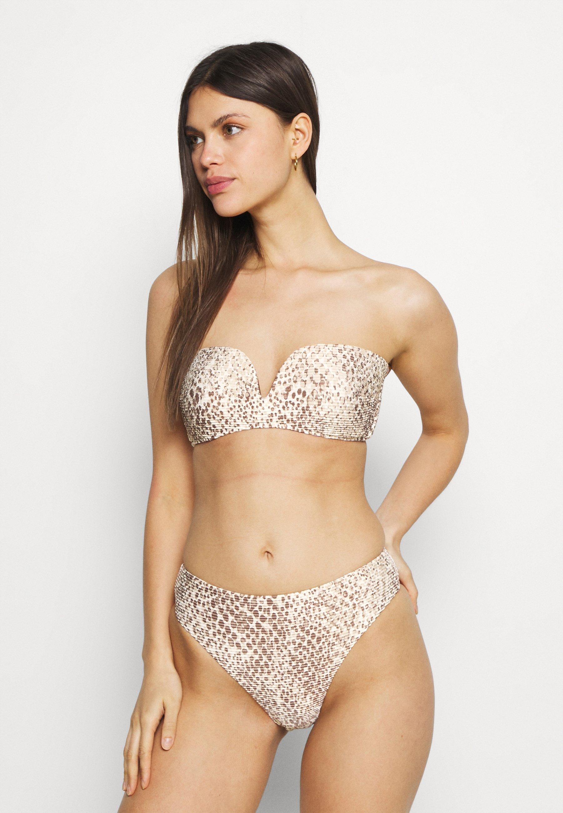 Women SERPENTINE BANDEAU BRA - Bikini top