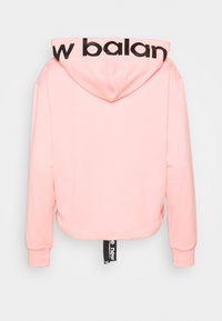 New Balance - RELENTLESS CINCHED HEM HOODIE - Sweatshirt - paradise pink heather - 1