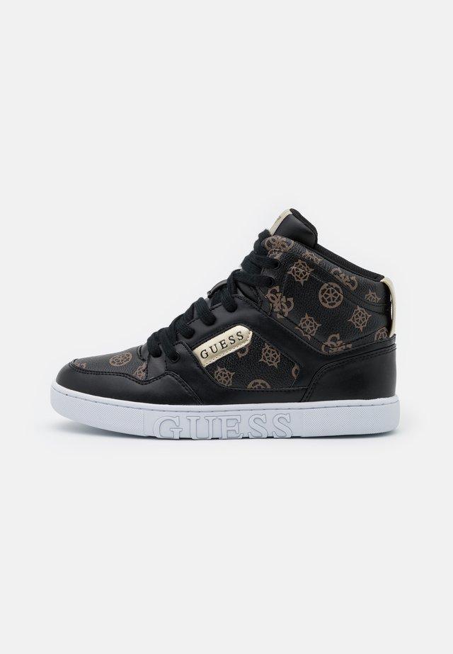 JUSTIS - Sneakers alte - bronze/black