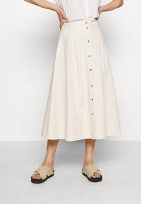Samsøe Samsøe - ROWENA SKIRT - A-line skirt - warm white - 0