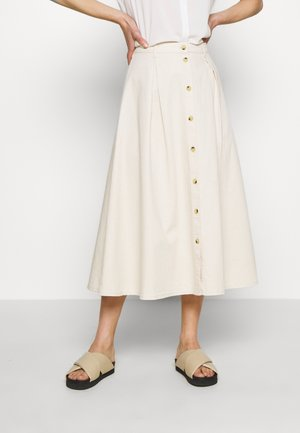 ROWENA SKIRT - A-line skirt - warm white