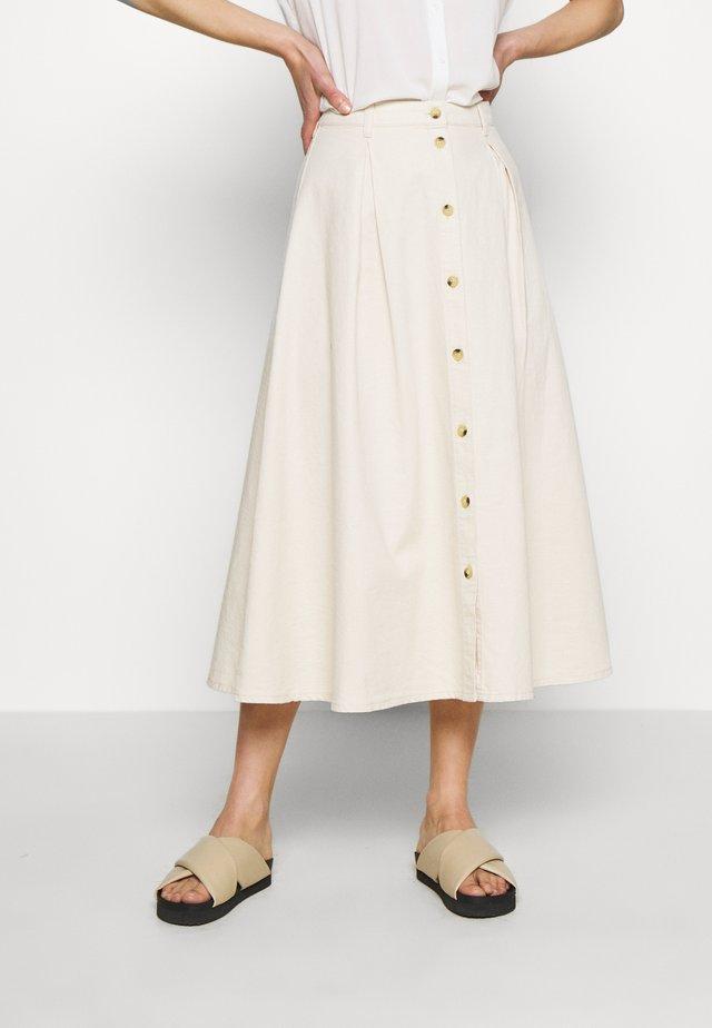 ROWENA SKIRT - Gonna a campana - warm white