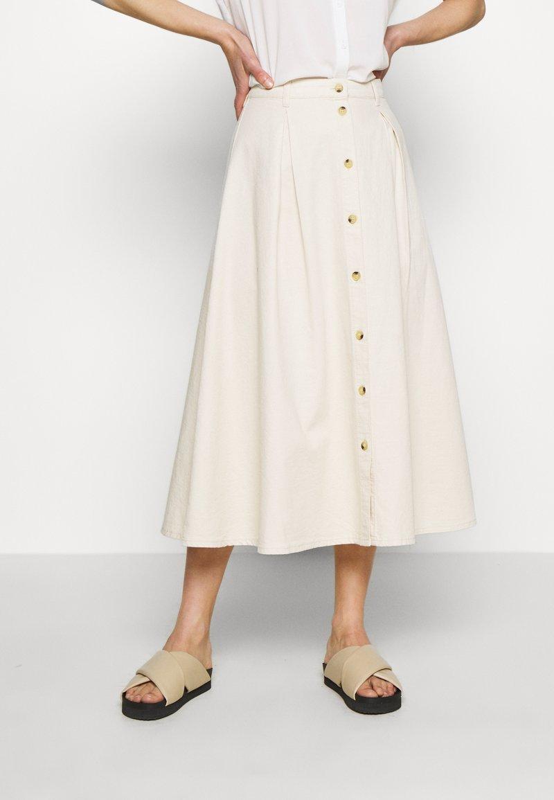 Samsøe Samsøe - ROWENA SKIRT - A-line skirt - warm white