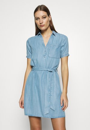 DRESS - Dongerikjole - light indigo