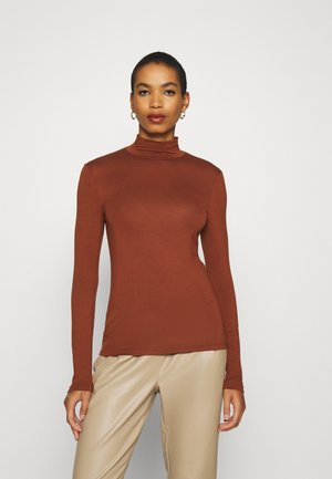 SFMIO HIGHNECK  - Long sleeved top - smoked