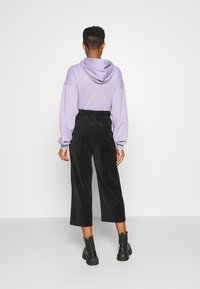 Monki - CORIE TROUSERS - Trousers - black dark - 2