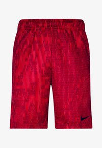 Nike Performance - DRY SHORT - Sports shorts - university red/black - 3