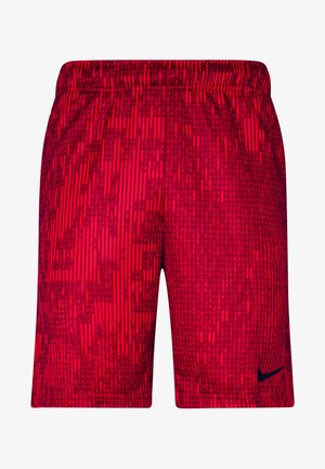 DRY SHORT - Korte sportsbukser - university red/black